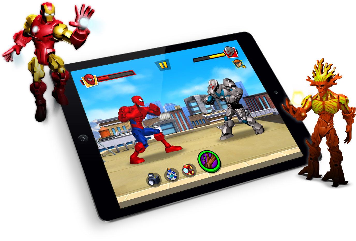 mix smash marvel super hero mashers mobile game bkom studios. Black Bedroom Furniture Sets. Home Design Ideas